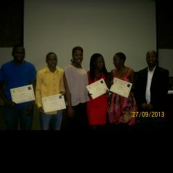 Group photo of Alice Campus prizewinners