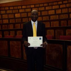 Mr Ayibongwe Joseph Mtimkhulu, 2nd place in Economics Honours in 2012
