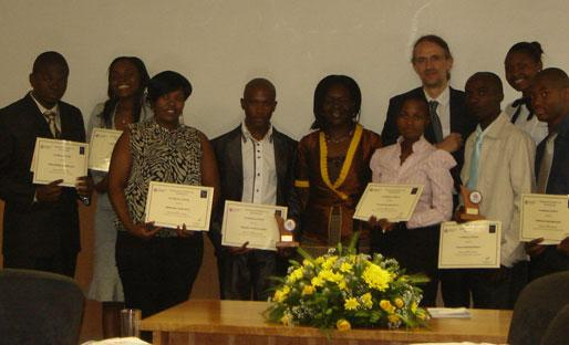 Tshwane University of Technology Prizewinners 2010